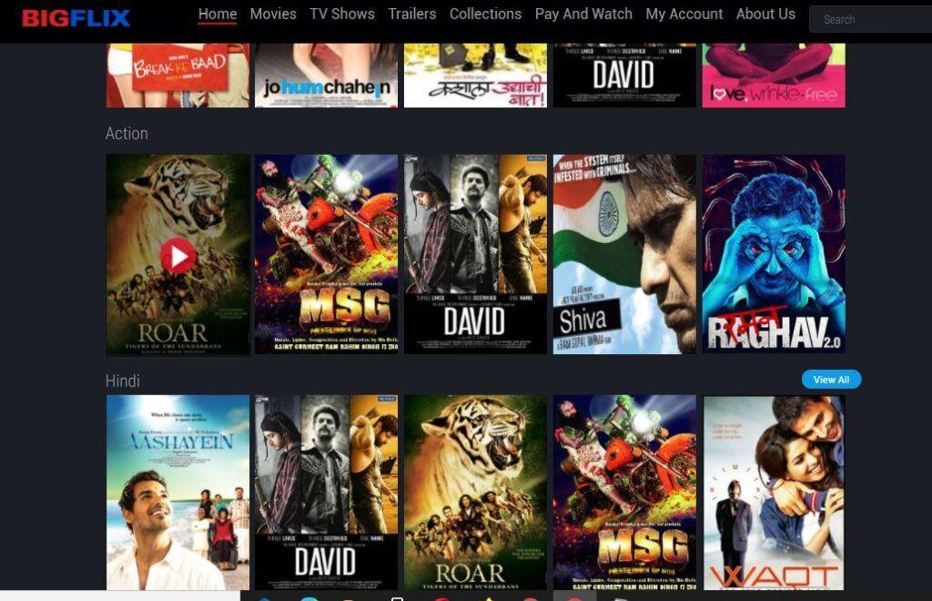 BigFlix Movies