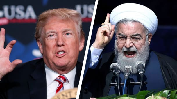 Billedresultat for trump and iran