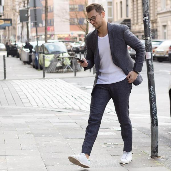 Smart Casual Mens Sneakers