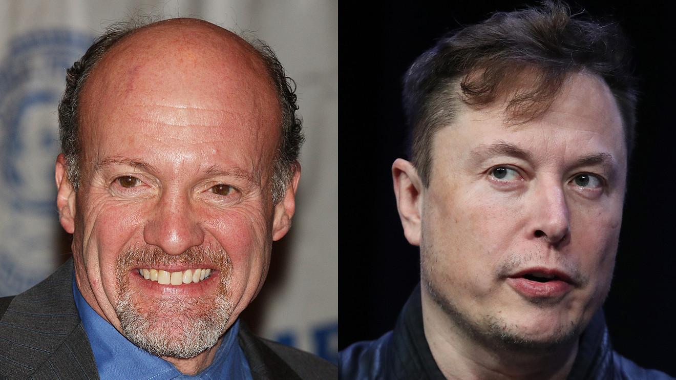 CNBC's Jim Cramer: Elon Musk may be a 'zealot' but he's ...