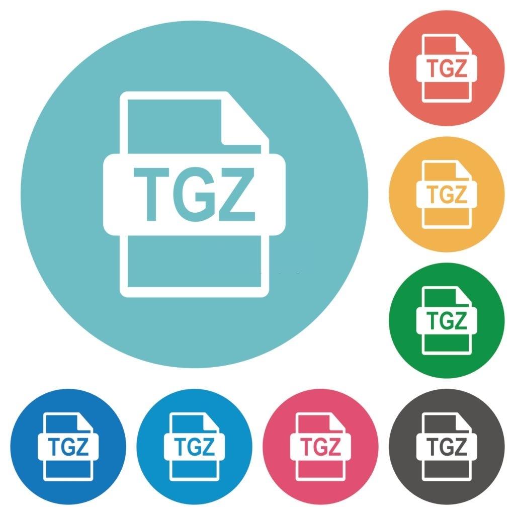 tgz file extension