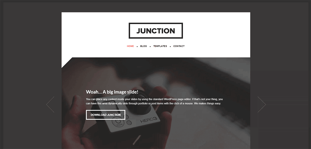 tema filho junction para wordpress