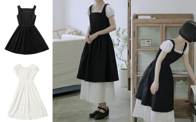 棉麻洋裝 搭配 流行 穿搭