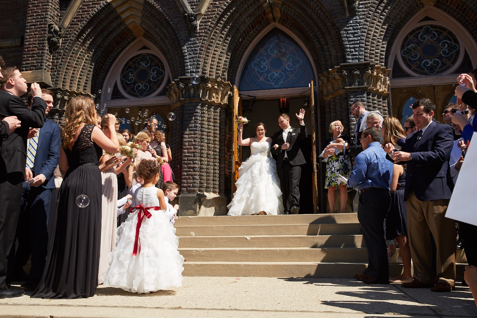 Real WedTexts Wedding Nick and Lauren Tuell