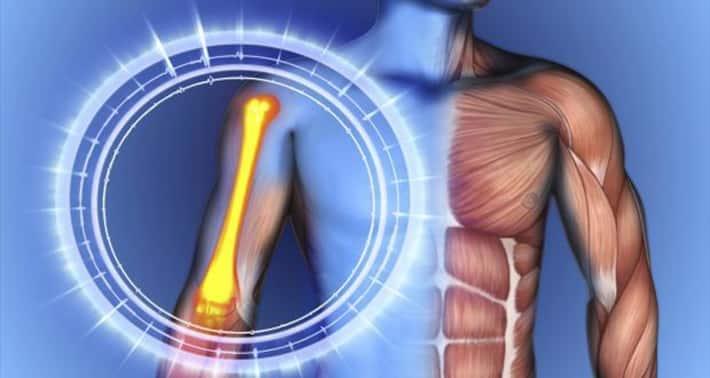 Omega 3 fatty acids works on bone health.
