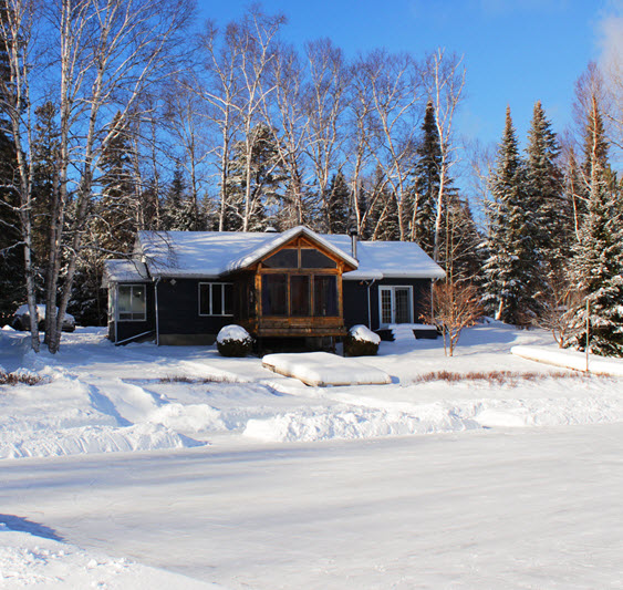 Cottages for rent near a ski mountain in Lanaudiere #8