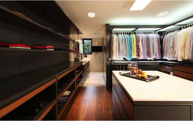 Thiết kế phòng thay đồ đẹp và hợp nhu cầu để quần áo, phụ kiện
