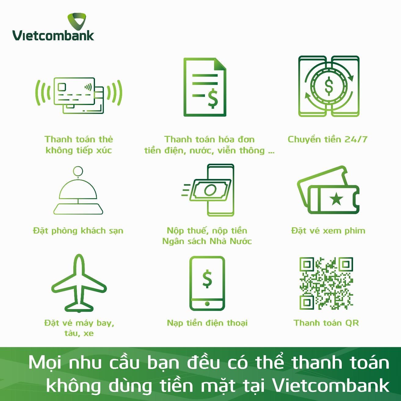 """Vietcombank hưởng ứng mạnh mẽ """"Ngày không dùng tiền mặt 16/06"""" - Ảnh 2"""