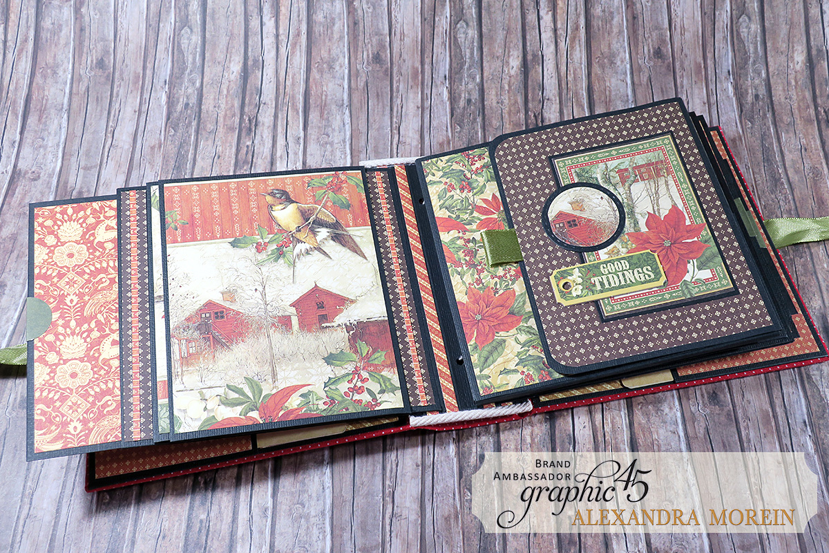 Winter Wonderland Mini Album, Project by Alexandra Morein, Product by Graphic 45, Photo 9.jpg
