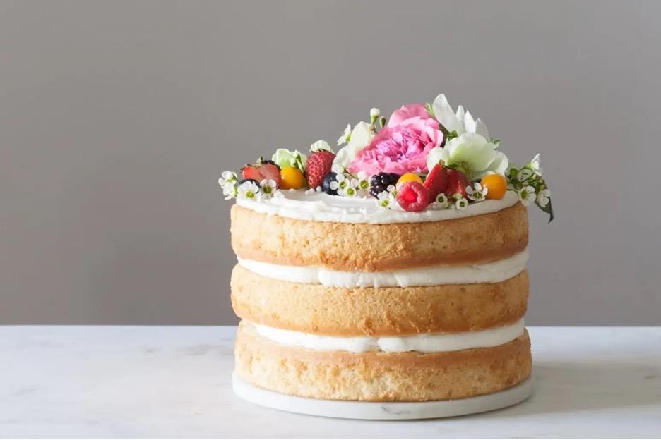 cake for rustic weddings