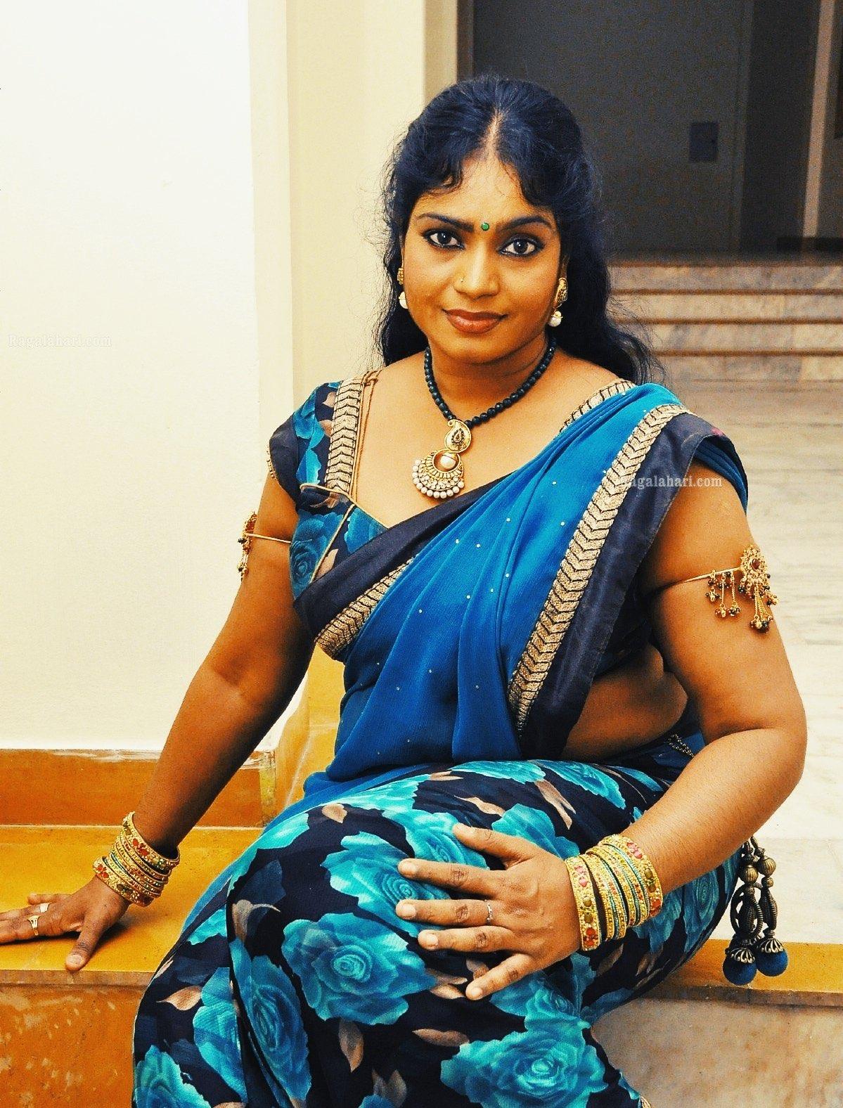 Telugu aunty Jayavani Gummadi hot latest photos   Indian ...