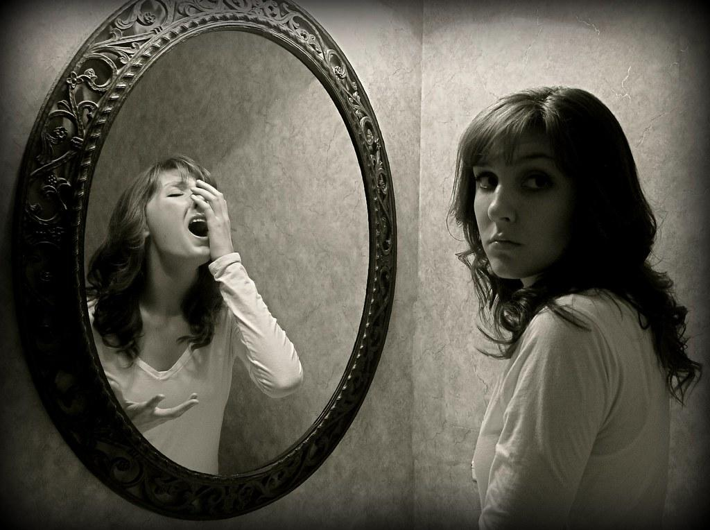 What My Mind Won't See {Explored!!} {3/365} | Fear of mirror… | Flickr