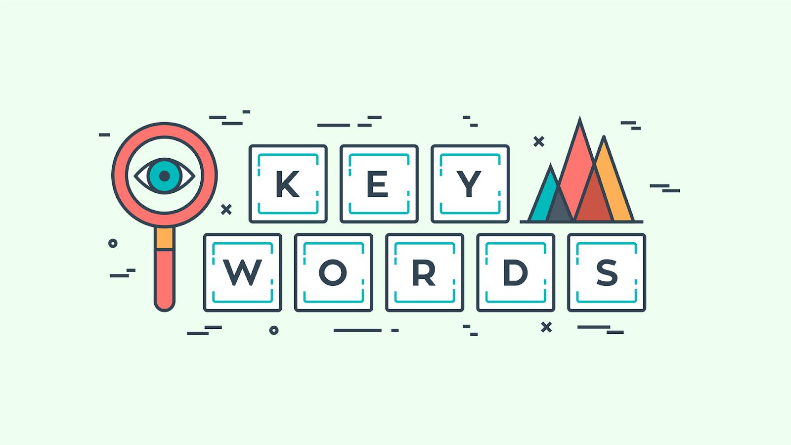 keyword analysis - keywords