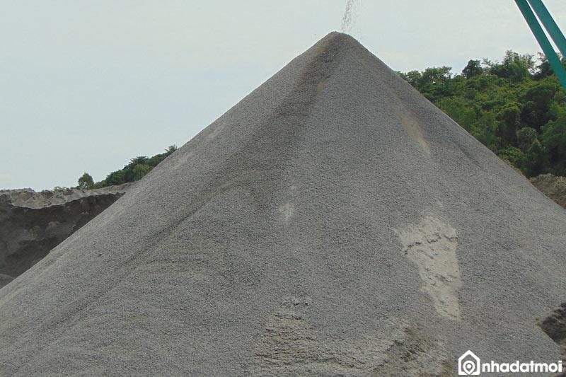 Đá mi bụi là một loại đá có đường kính rất nhỏ, chỉ từ 5mm trở xuống