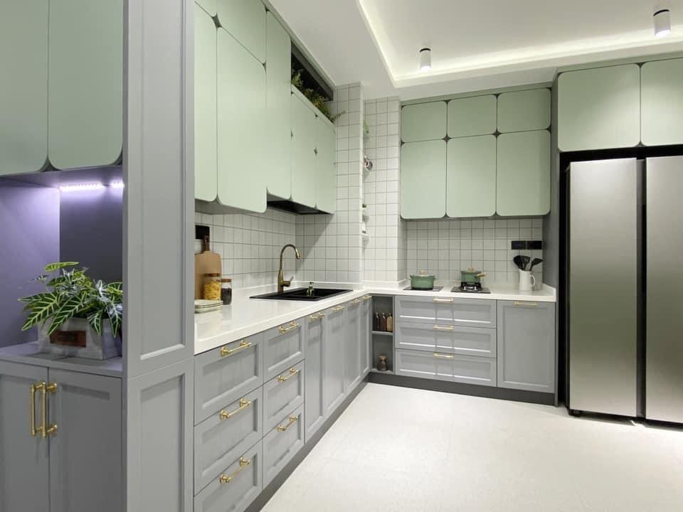 Mẫu thiết kế nội thất cho những gia chủ yêu màu xanh - Ảnh 3