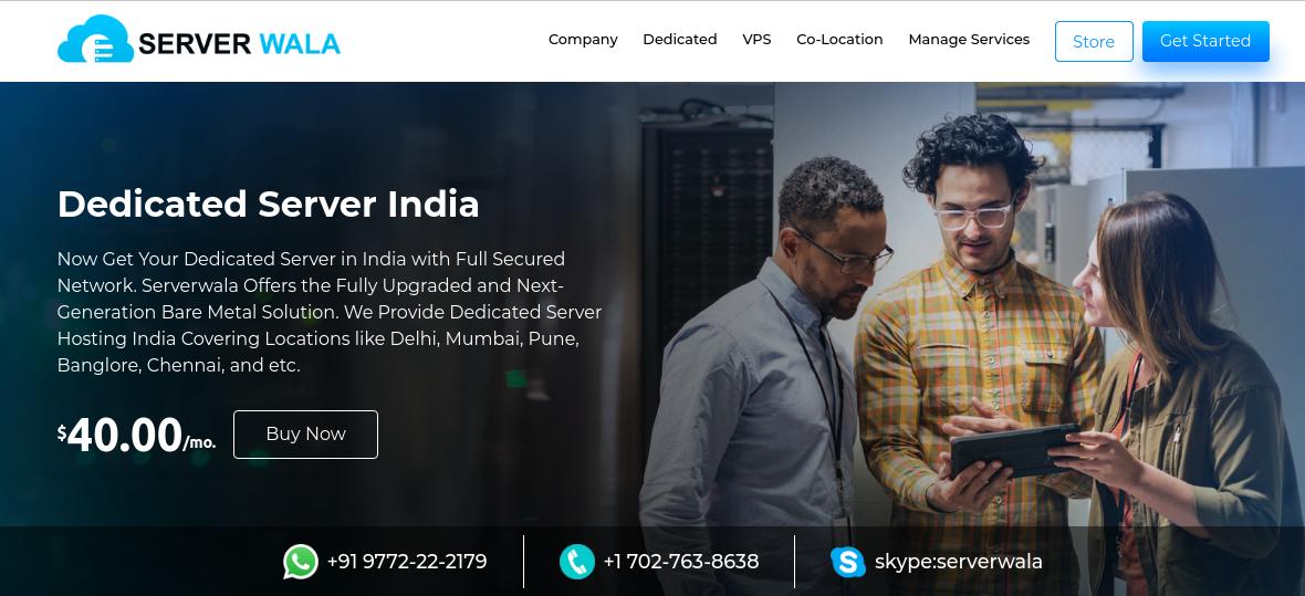Dedicated Server India by Serverwala