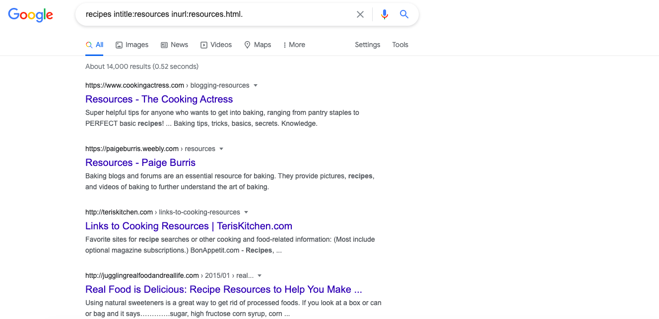 resource link building strategies