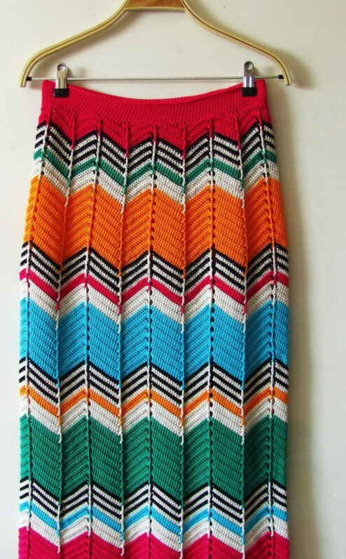 Rio Waves Crochet Skirt Pattern
