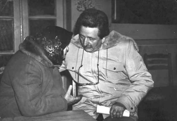 Надія Парубченко, мати Юрія Литвина, і багаторічний політв'язень, друг її сина Михайло Горинь