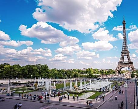 Картинки по запросу Trocadéro Garden the Eiffel Tower