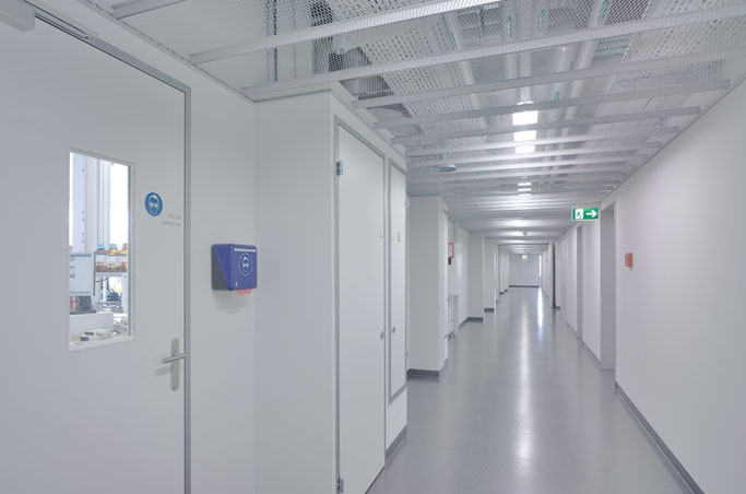 example clean manufacturing facility