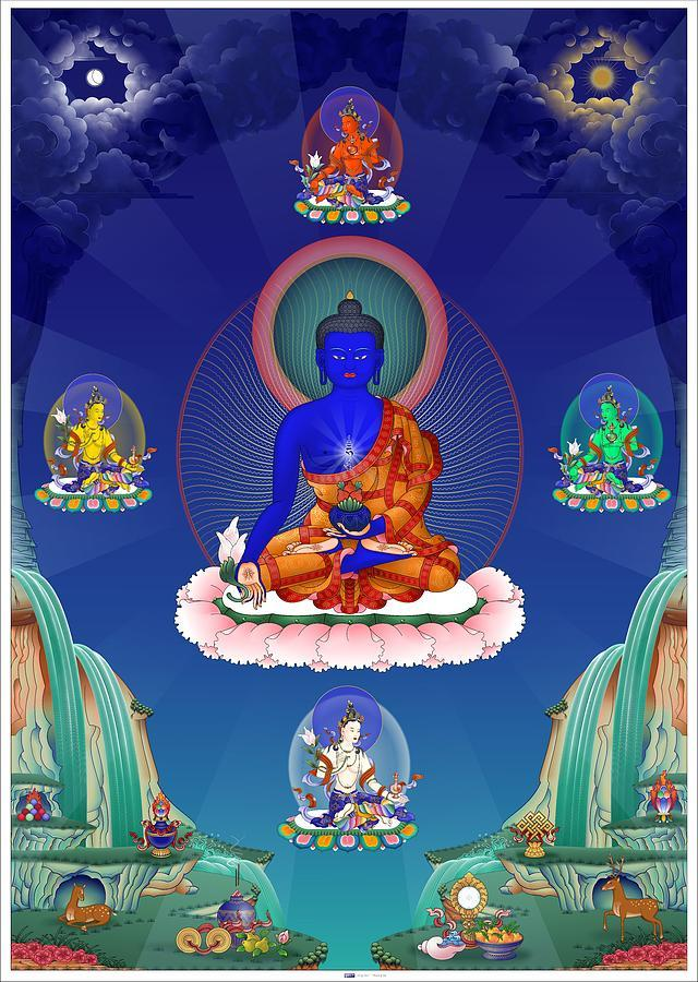 http://images.fineartamerica.com/images-medium-large-5/medicine-buddha-with-healing-dakinis-fred-van-der-zee.jpg