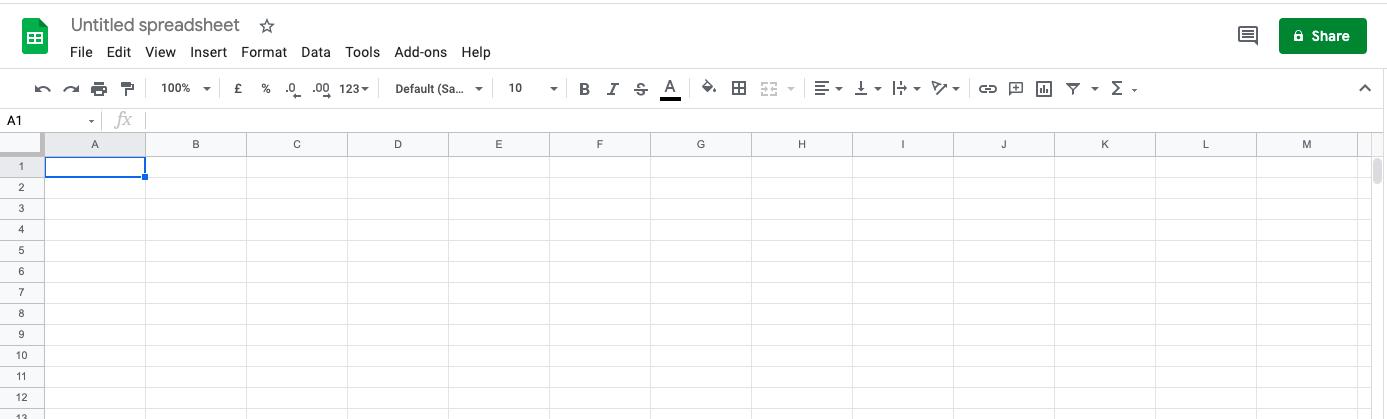 Google Spreadsheet - subtract function