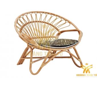 ghế mây tròn được làm từ 100% tự nhiên