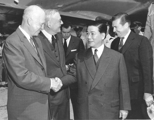 Eisenhower và Ngô Đình Diệm