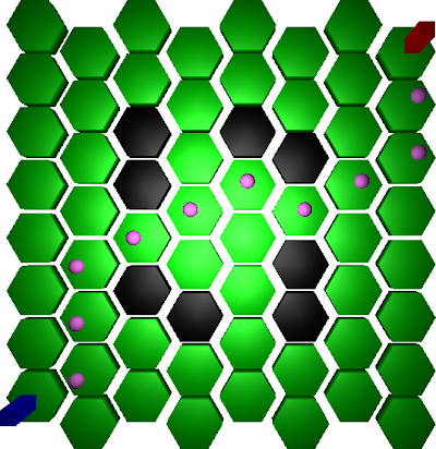 Unity, hexagons and path-finding