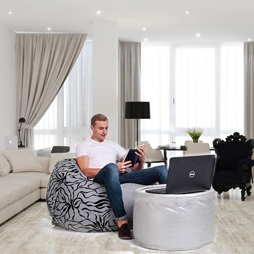 Бескаркасная мебель ежегодно становится все более популярной