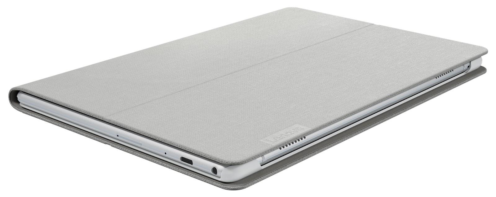 Фото 1. Чехол Lenovo TAB P10 Folio Case/Film White (ZG38C02586)