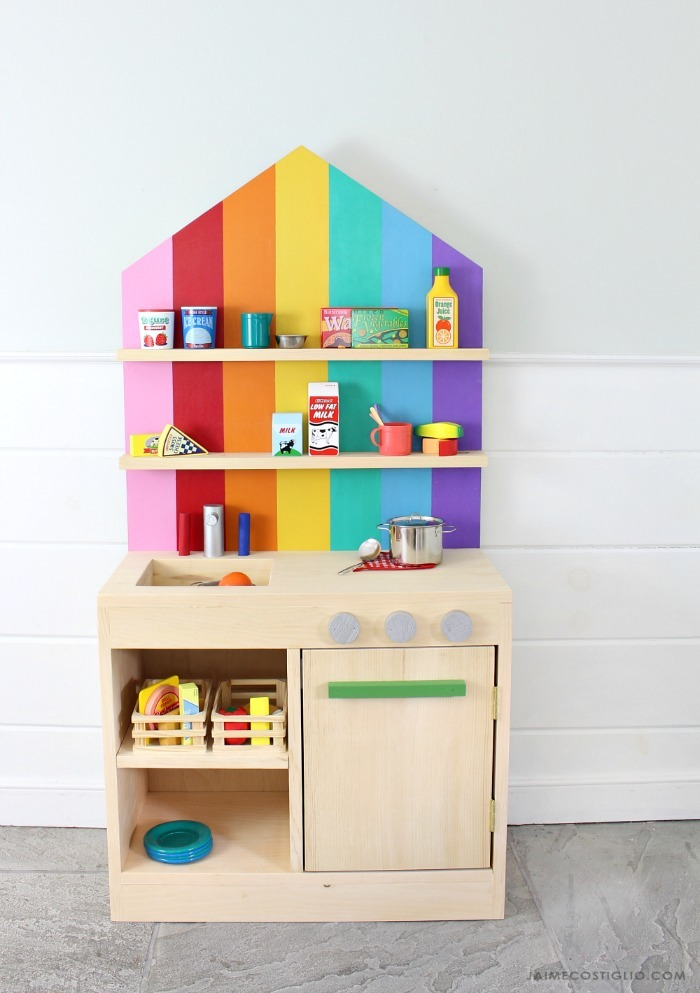 wooden play kitchen, a craft that makes money
