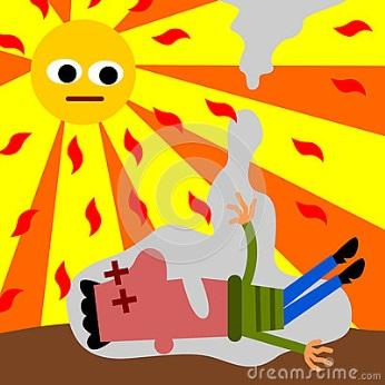 http://thumbs.dreamstime.com/x/cartoon-illustration-man-having-heat-stroke-30187484.jpg