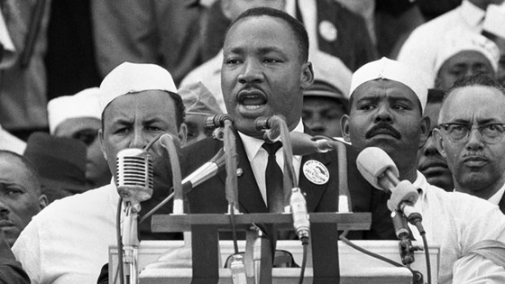 The Vetducator - Picture of MLK giving speech.