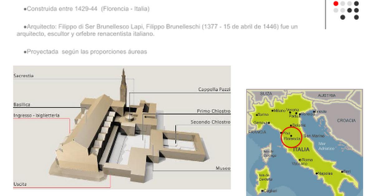 CAPILLA PAZZI FLORENCIA.ppt - Google Slides