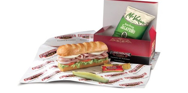 Firehouse Subs Boxed Lunch