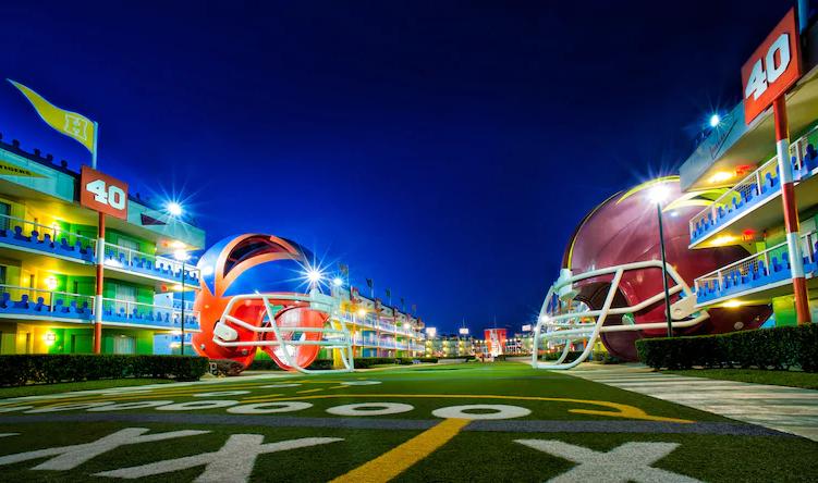 Hotéis em Orlando: All Star Resort Sport