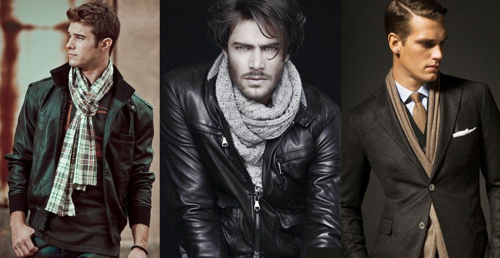 How Do You Wear a Scarf With a Leather Jacket?