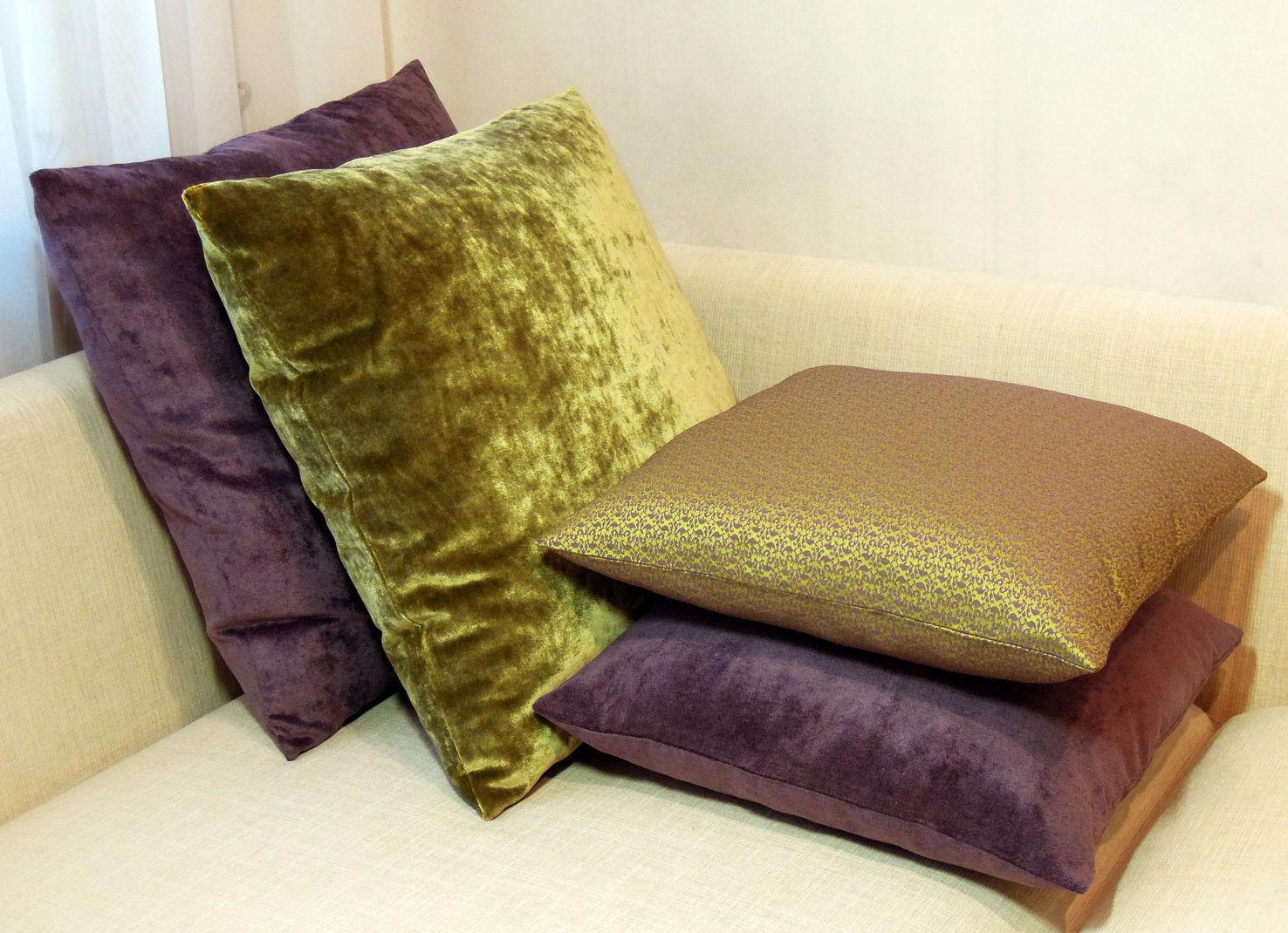 Ткани для чехлов подушек и обивки диванов