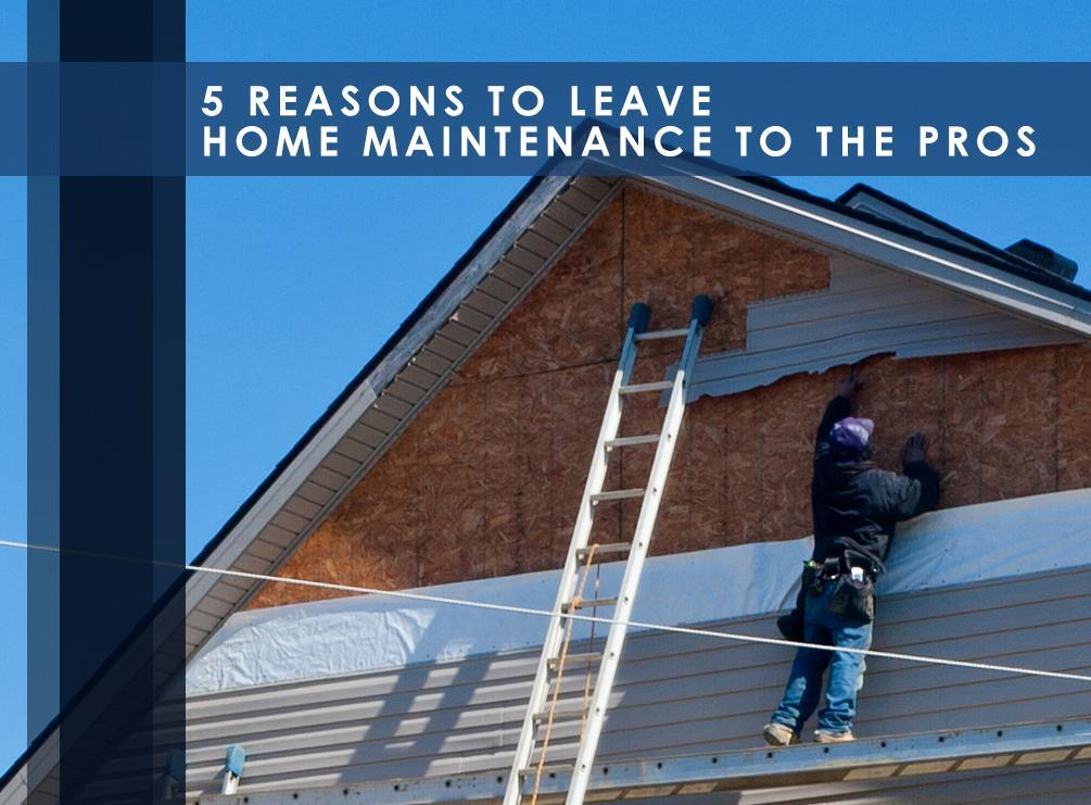 Home Maintenance to the Pros