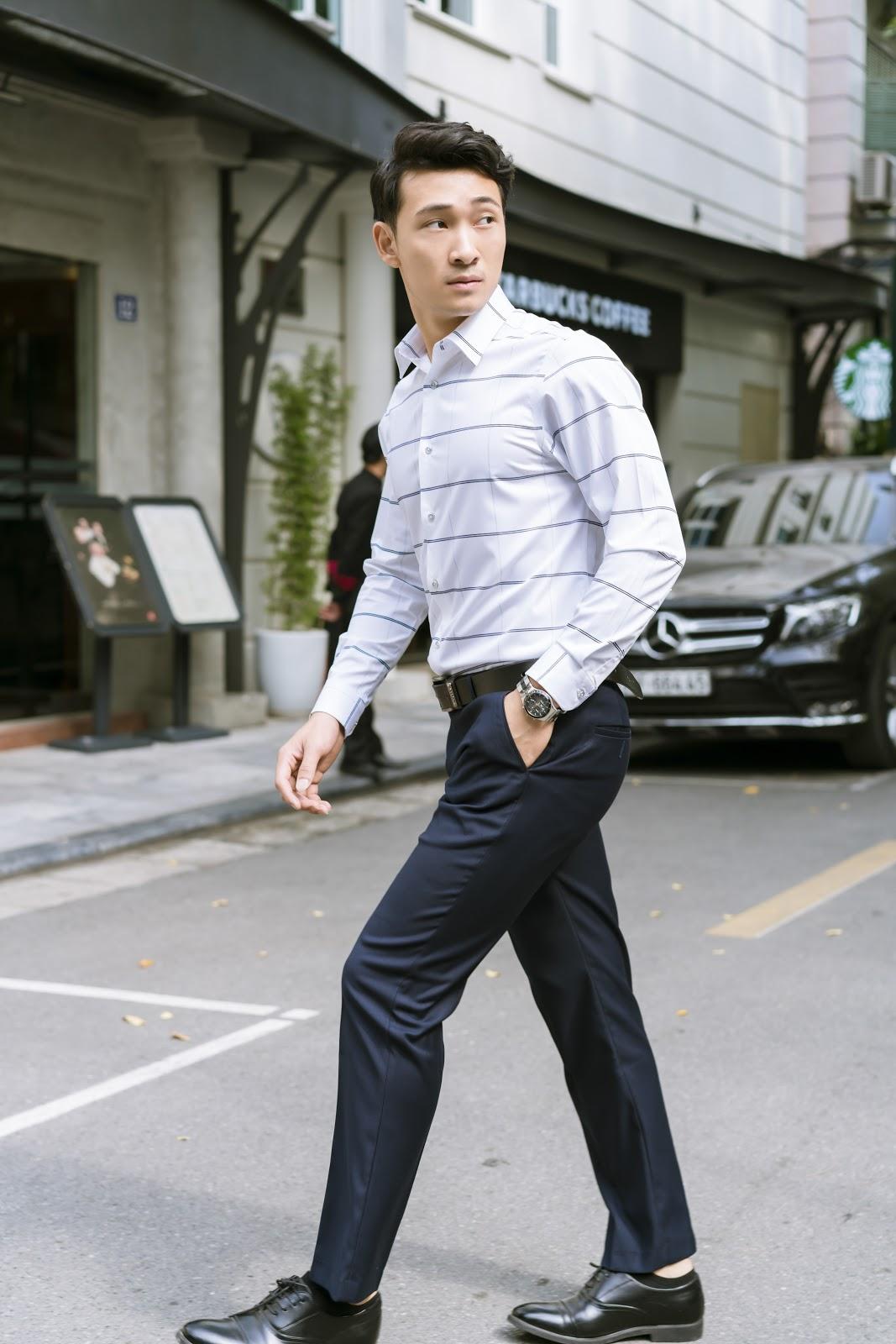 Các loại áo sơ mi nam kẻ được rất nhiều nam giới ưa chuộng và lựa chọn