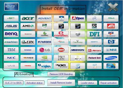 Descargar windows 7 loader slic activation with oem information