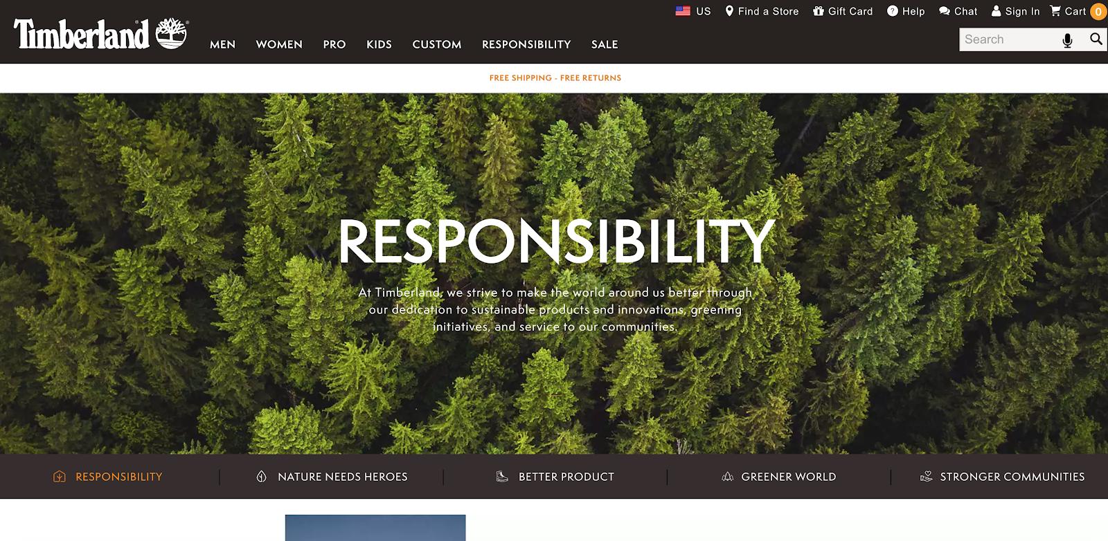 Timberland Ux Design