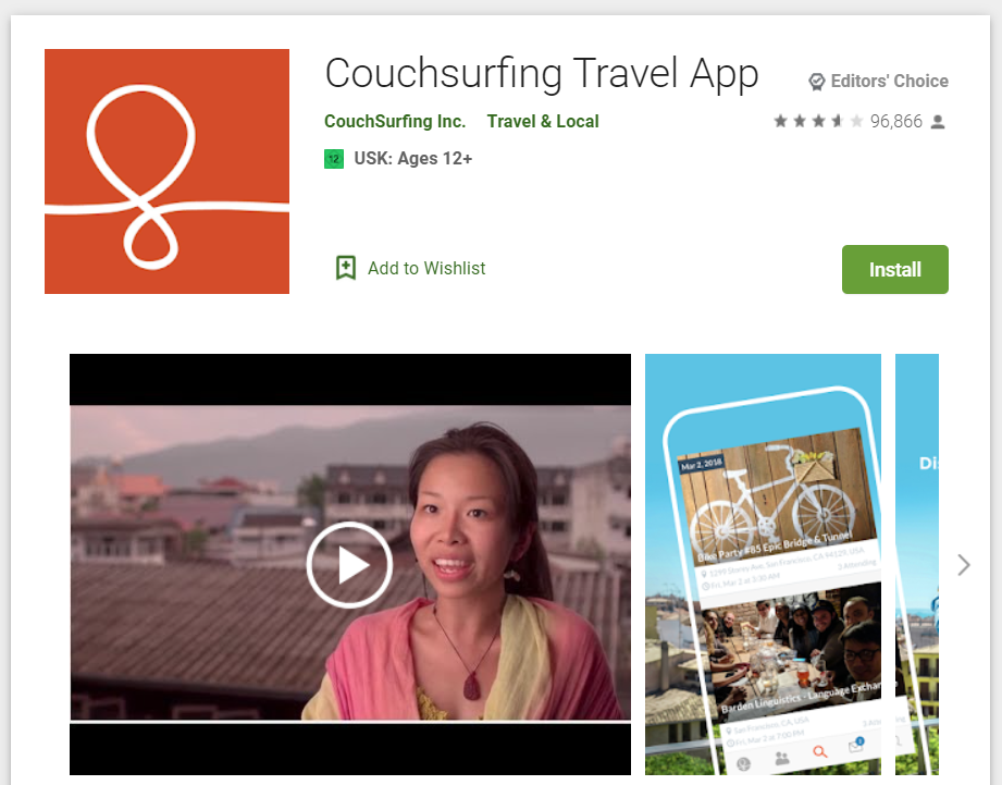 Le migliori Travel App per riscoprire l'Italia_couchsurfing