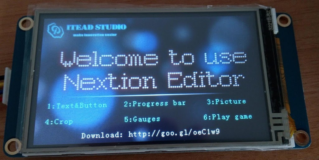 Kas Embedded Projects And Review Nextion Hmi Display A