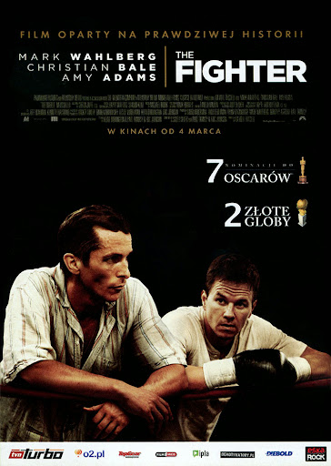 Przód ulotki filmu 'The Fighter'