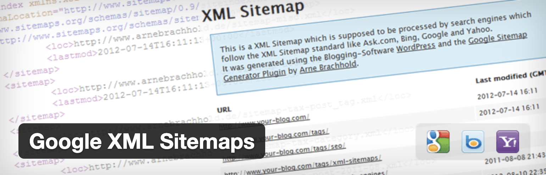 ①:Google XML Sitemaps【サイトマップ作成】