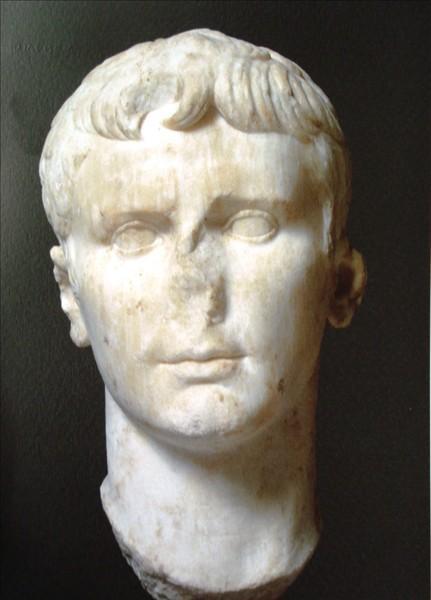 C:\Users\NF\Desktop\ΠΕΡΙ ΝΙΚΟΠΟΛΕΩΣ\17 MONUMENT of Augustus, Nikopolis. Octavian Head Bust. ΟΚΤΑΒΙΑΝΟΣ, Προτομή, Copyright IB ΕΠΚΑ 02.JPG