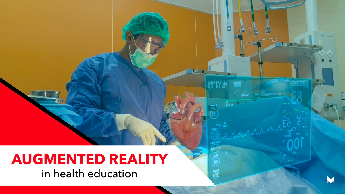 Augmented reality in health education